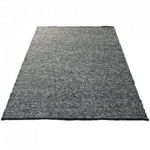 Covor gri carbune din lana 170x240 cm Scandinavia Bolia