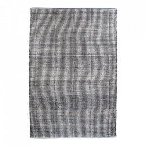 Covor gri deschis din lana si bumbac 200x300 cm Ohio House Nordic