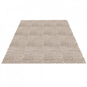 Covor gri deschis din lana si viscoza 140x200 cm Braid Bolia