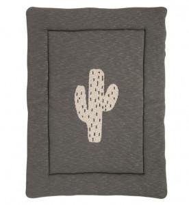 Covor joaca din bumbac 73x93 cm Cactus Quax