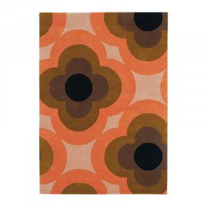 Covor multicolor din lana OR Pulse-Pink Brink & Campman (diverse dimensiuni)