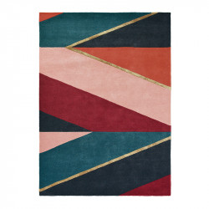 Covor multicolor din lana TB Sahara-Burgun Brink & Campman (diverse dimensiuni)