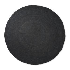 Covor negru din iuta 240 cm Eternal Ferm Living