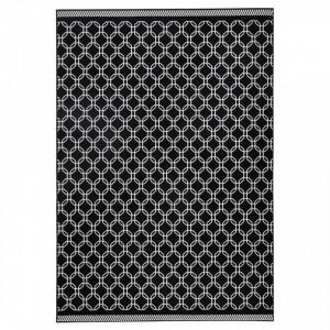 Covor negru dreptunghiular Chain Zala Living (diverse dimensiuni)