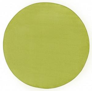 Covor rotund verde Fancy Uni Hanse Home (diverse marimi)