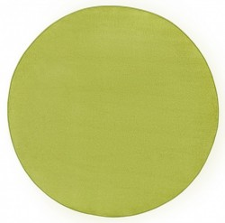 Covor rotund verde Fancy Uni Hanse Home