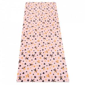 Covor roz din poliamide 67x170 cm Viva Lovely Elle Decor