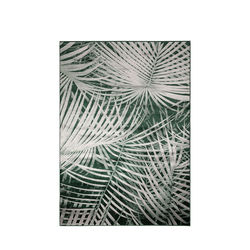 Covor verde 170x240 cm Palm by Day Zuiver