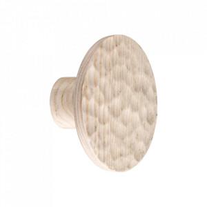 Cuier crem din lemn de frasin Kyoto Bolia