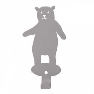 Cuier gri din fier Bear Bloomingville
