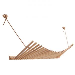 Cuier maro din lemn de stejar Knaegt Woud