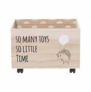 Cutie lemn pentru depozitare jucarii So Many Toys Bloomingville