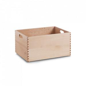 Cutie maro din lemn Beech Lacquered Tall XL Zeller