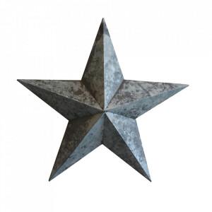 Decoratiune argintie din zinc 42 cm Stellar Raw Materials
