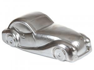 Decoratiune  argintiu din ceramica Vintage Car 2 Santiago Pons