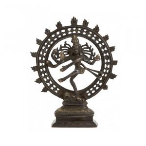 Decoratiune din alama 23 cm Shiva Nordal
