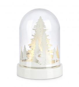 Decoratiune luminoasa LED transparenta/alba din plastic Marby Markslojd