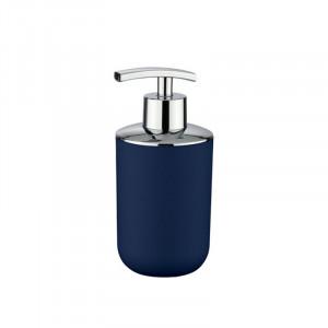 Dispenser albastru inchis/argintiu din elastomer termoplastic 320 ml Nabu Wenko