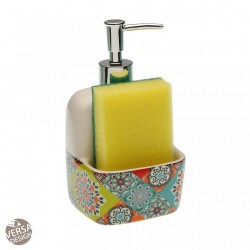 Dispenser multicolor din ceramica 10,5x17,8 cm Topkapi Sponge Versa Home
