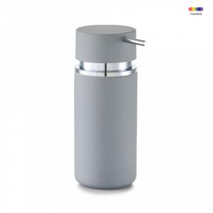 Dispenser sapun lichid gri din ceramica 300 ml Rubber Zeller