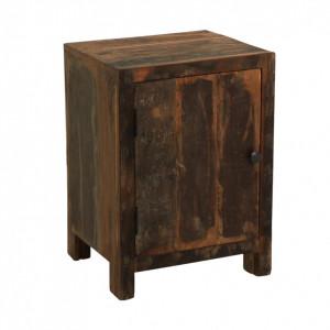 Dulapior maro din lemn Locker Raw Materials