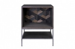 Dulapior negru din MDF 56x45x70 cm Illusion Versmissen