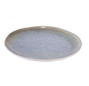 Farfurie albastra deschis din ceramica 28,4 cm Sachi La Forma