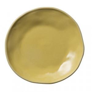 Farfurie galbena din ceramica pentru desert 13 cm Simone Bloomingville