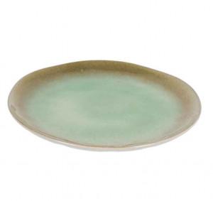 Farfurie verde din ceramica 28,4 cm Zain La Forma