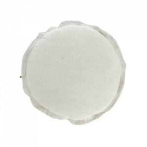 Fata de perna alba din textil 45 cm Maelina La Forma