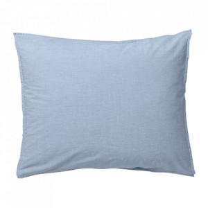 Fata de perna albastra din bumbac 50x70 cm Hush Light Blue La Forma