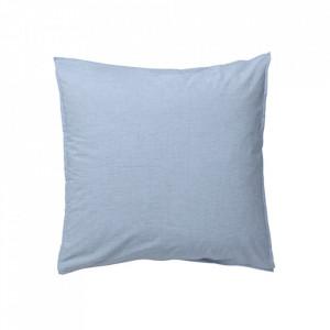 Fata de perna albastru deschis din bumbac organic 50x60 cm Hush La Forma