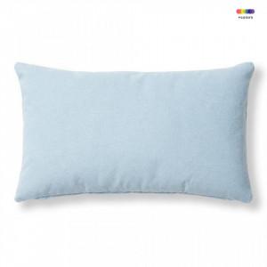 Fata de perna albastru deschis din textil 30x50 cm Mak Varese La Forma