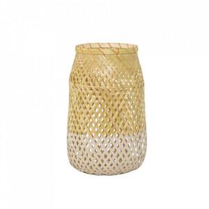 Felinar maro din bambus 30 cm Hopio Bloomingville