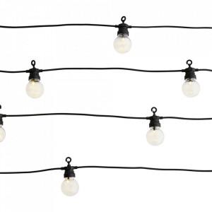 Ghirlanda luminoasa exterior din plastic cu 10 LED-uri 8,5 m Party Madam Stoltz