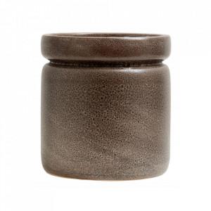 Ghiveci maro din ceramica 27,5 cm Isa Big Nordal