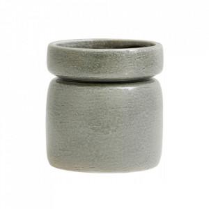 Ghiveci verde din ceramica 15 cm Isa Nordal