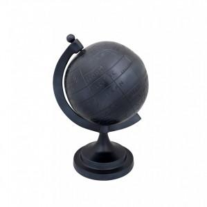 Glob pamantesc decorativ negru din aluminiu Miles Lara Dutchbone