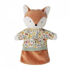 Jucarie marioneta multicolora din poliester Fox Bloomingville Mini