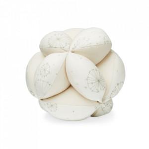 Jucarie zornaitoare din bumbac Ball Dandelion Natural Cam Cam