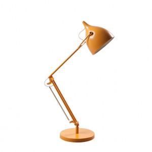 Lampa birou ajustabila din metal galben Reader Zuiver