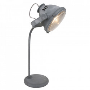 Lampa birou gri din metal 57 cm Nova Steinhauer