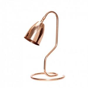 Lampa birou maro cupru din metal 40 cm Ali Hubsch