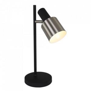 Lampa birou neagra din metal 43 cm Fjorgard Steinhauer