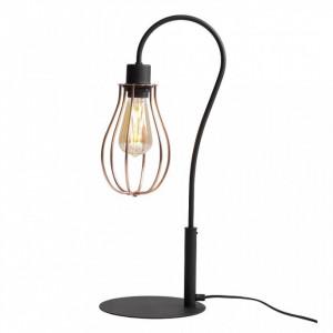 Lampa birou neagra din otel 56 cm Allegra Aldex