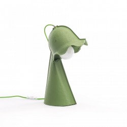 Lampa birou verde 17x25cm cm Egg of Columbus Table Lamp Seletti