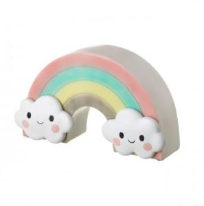 Lampa de veghe multicolora din polirasina Rainbow Unimasa