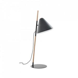 Lampadar gri din lemn si otel 165 cm Hello Normann Copenhagen