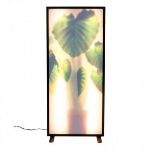 Lampadar multicolor din aluminiu si sticla 112 cm Grow XXL Zuiver