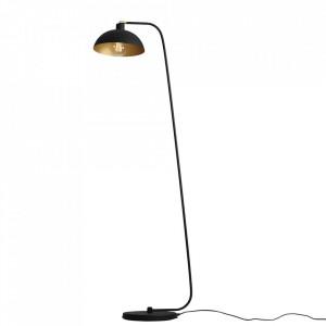 Lampadar negru/auriu din metal 165 cm Espace Aldex